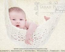 Off-White Baby Hammock Newborn Photo Prop -- Ready to Ship -- Over 500 hammocks sold -- Original Designer