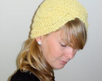 Turban in Daffodil Yellow