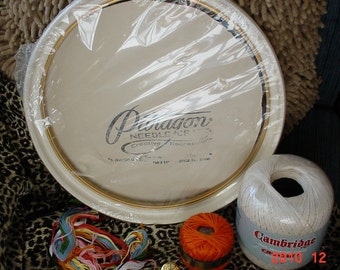 Paragon Frame Embroidery/Crochet Craft  thread Supplies