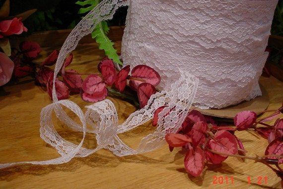 Vintage White Wedding LACE Bridal Lingerie Trim
