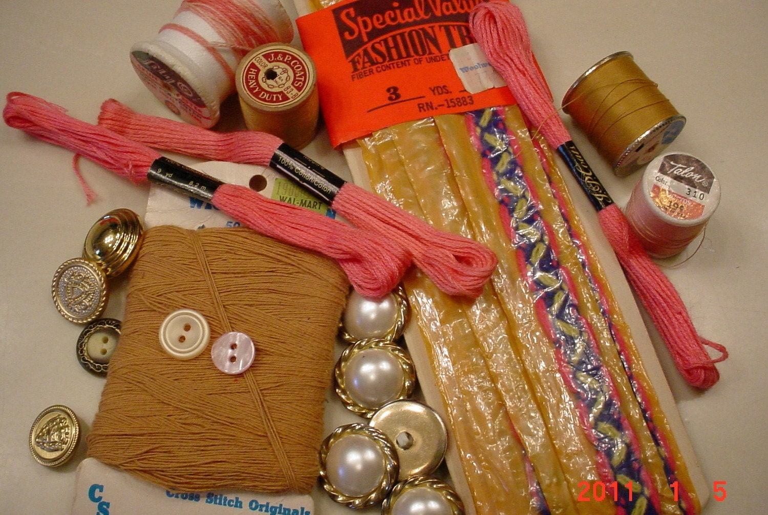 Sewing craft supplies embroiderythread buttons from for Sewing and craft supplies