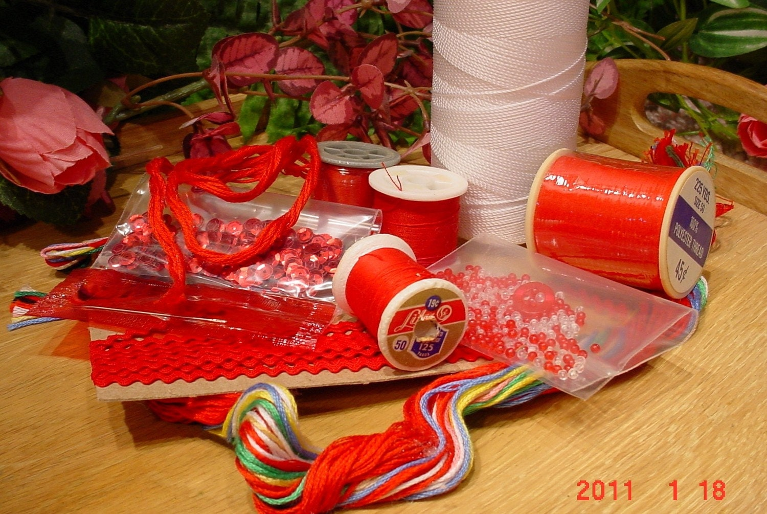 Sewing supplies and craft supplies red from for Sewing and craft supplies
