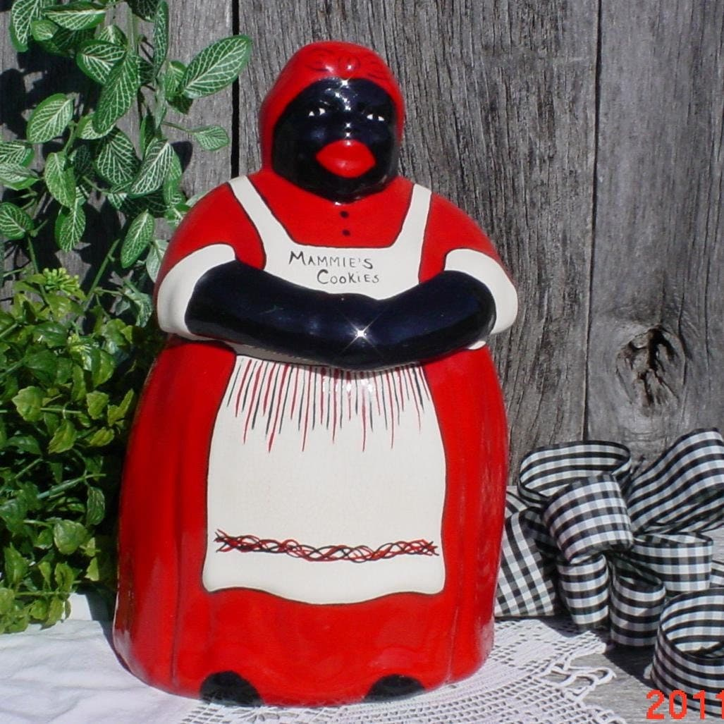 Mccoys Christmas Trees: Vintage McCoy Mammy Cookie Jar By MellyMcBlueTreasures On Etsy