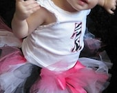 Zebra Tutu - Hot Pink/Black/White Toddler - Gifts Under 25