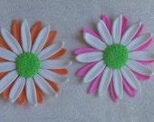 Multi Colored Gum Paste Daisies