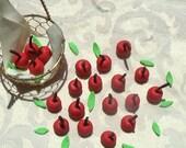 Gum Paste Cherries with Stems