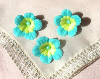 Two Colored Gum Paste Flowers