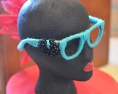 Through teal colored glasses