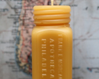 """Beeswax Candles - """"APOTHECARIES"""" - by Pollen Arts - Sm."""