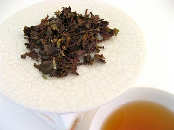 Earl Grey Lavender Black Tea • 3.5 oz. Kraft Bag • French Bergamot & Provence Lavender Blossoms Loose Leaf Tea Blend