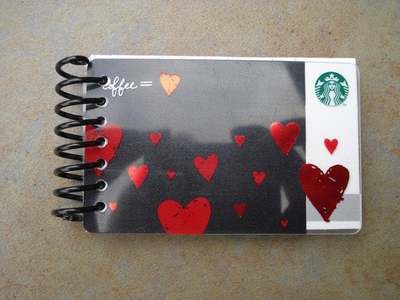 Give Dad An Upcycled Starbucks Notebook