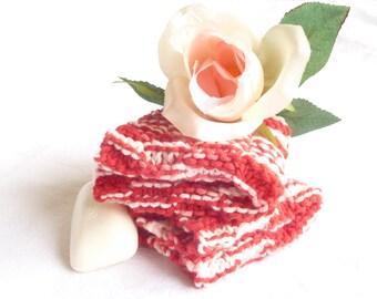 Hand Knit Bathand Spa Wash dish cloth set
