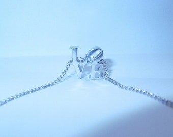 LOVE Park necklace in sterling silver
