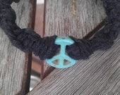 Give Peace a Chance Hemp Bracelet