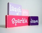 Sparkle. Dance. Laugh. Play. The Set.
