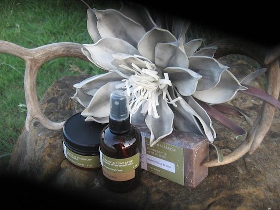 Gift for Him  Men's Natural After Shave Balm Tonic Soap Mist