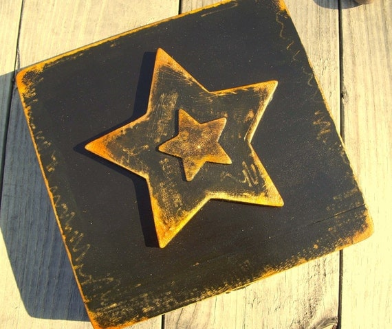 Wooden Altar Magick Spell Box Distressed Art Mirrors Felt Interior and Backing for Reversing Negativity or Safekeeping Talismans and Amulets