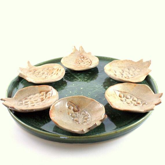 Pomegranate Seder Plate
