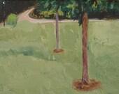 Gulley Park : Original Acrylic Painting
