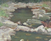 Niokaska Creek : Original Acrylic Painting