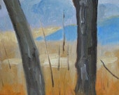 View from The Hill - Original Oil Painting
