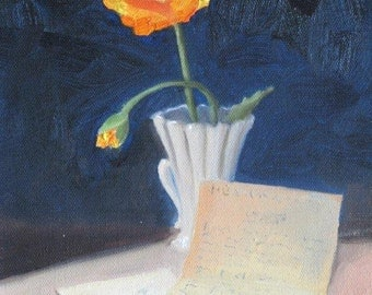 The Letter - Original Oil Painting