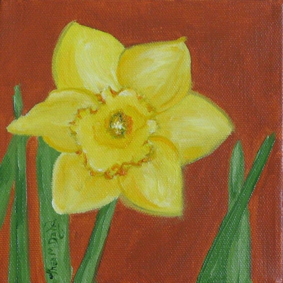 Daffodil Delight - Original Oil Painting