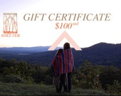 Shelter / Protects You // Gift Certificate for 100 USD