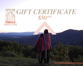 Shelter / Protects You // Gift Certificate for 50 USD