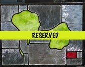 Reserved for bullterrier1 only - Gingko Leaves Stained Glass - Final Payment