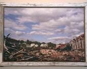Salvaged Wood Framed Photograph- CUSTOMIZABLE