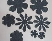 8 Piece TIM HOLTZ Alterations Denim Die Cuts Flowers Floral Spring