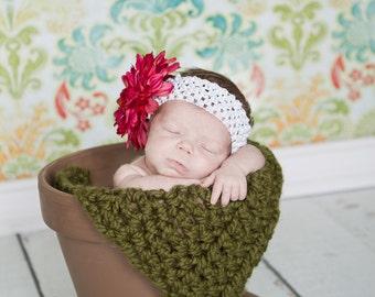 Baby blanket-My itsy bitsy blankie-Olive green-square baby blanket-baby shower gift-birth gift