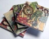 Coaster Set - Wizard of Oz