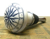 Nautical Compass Wine Stopper