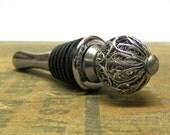 Delicate Silver Ornament Wine Stopper - Wine Bottle Stopper