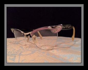 Etched Aluminum Harlequin Glasses
