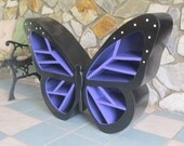 FREE SHIPPING,The Butterfly Shelf, One of a kind piece