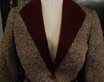 Jerry Silverman by Saulino 1970's Two Piece Suit