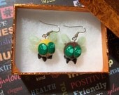My Little Pony Parasprite Earrings (Honey and Chocolate colors)