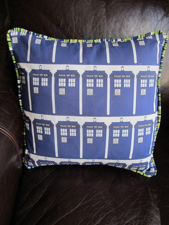 TARDIS Dr. Who Pillow