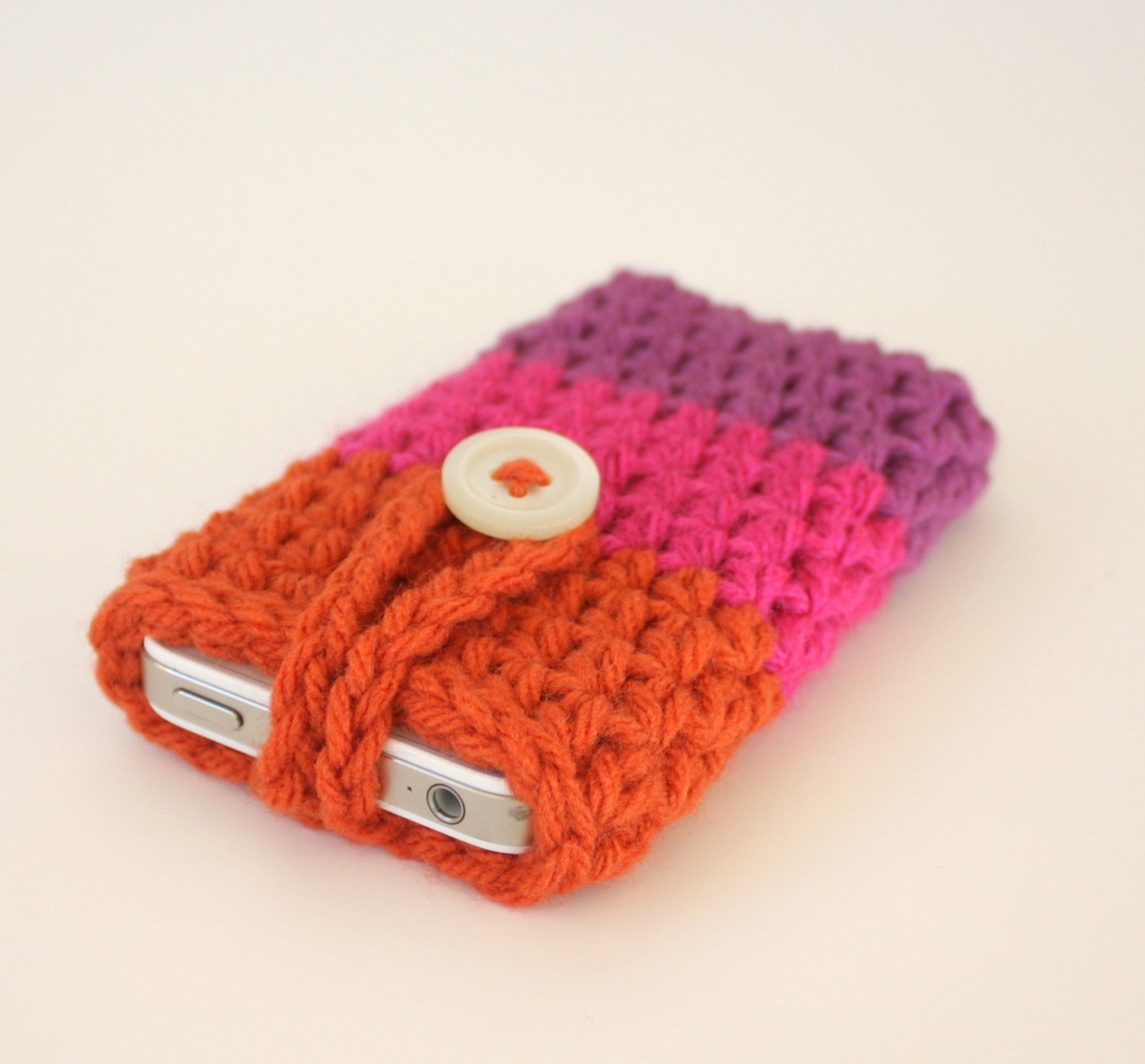Free Crochet Pattern For I Phone Case : Alfa img - Showing > Crochet iPod Case