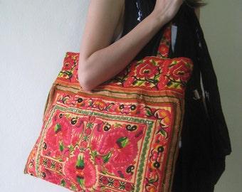 Ethnic Boho Hobo Hmong Bag Tote Shopper Thai Shoulder Bag