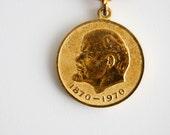 Soviet Union Lenin Medal - 100 years since Vladimir Lenin Birth - Rare Medal