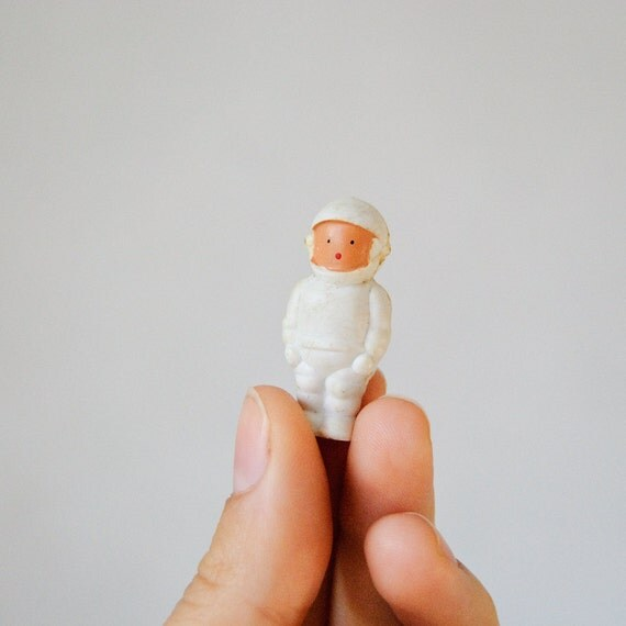 Little Astronaut - Soviet Vintage Brooch - USSR - Spaceman - Collectible - Retro Russian Jewelry