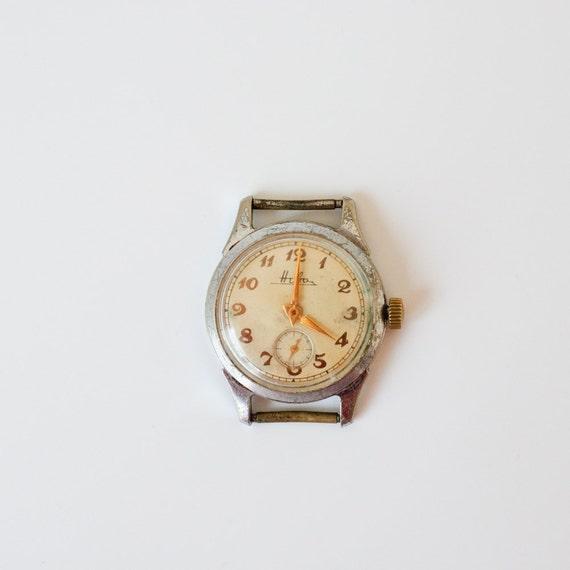 Russian Watch Neva - Soviet Vintage Watch - Collectible - Wrist Watch