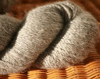Pygora Yarn - Grey, sport weight
