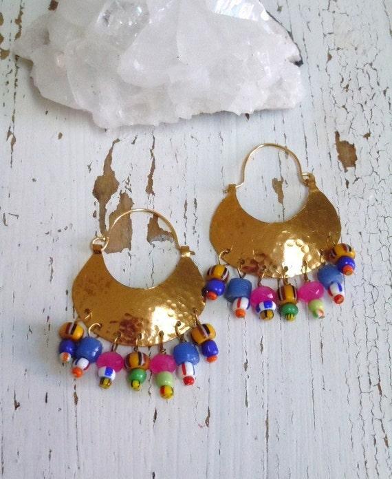 Amina Tribal Warrior Shields .....earrings