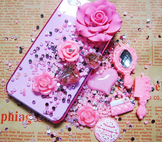 800pcs Deco Classical Style Pattern Cell phone Cases Bling AQ3
