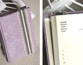 Lilac Damask Pocket Diary